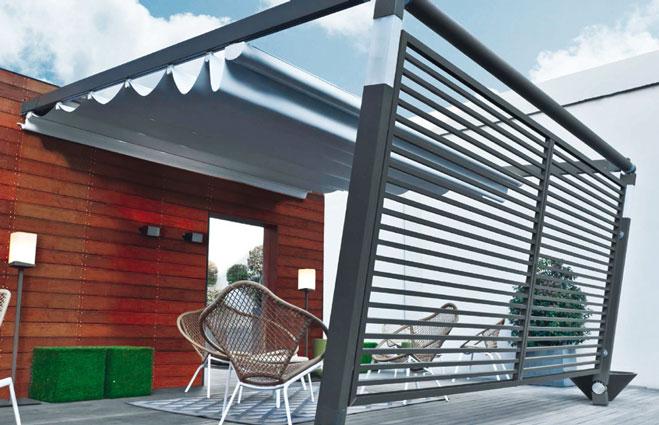 emejing pergola aluminium design gallery. Black Bedroom Furniture Sets. Home Design Ideas